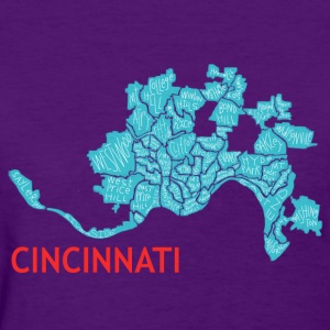Cincinnati Neighborhood Womens Shirt - Women's T-Shirt
