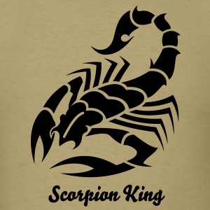 Scorpion Tribal Tattoo 7 T-Shirts - Men's T-Shirt