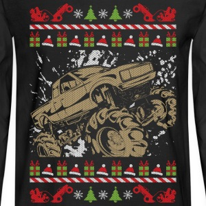 Ugly Christmas Mud Truck