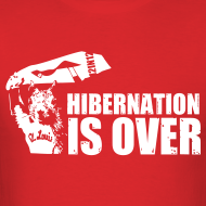 Design ~ Hibernation is Over Rally Squirrel 12 in 12 Shirt