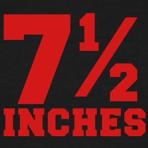 SIZE MATTERS 7 and one half inches 1/2 T-Shirts - Men's Ringer T-Shirt