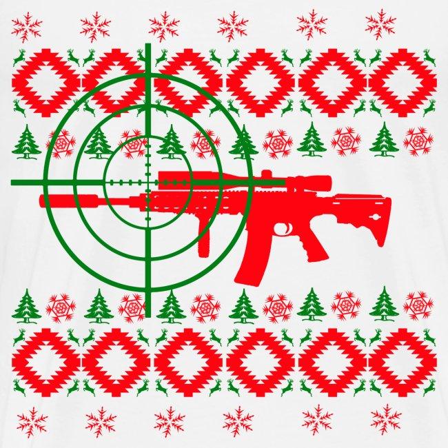 Ugly Christmas gun