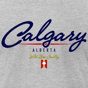 Calgary Script American Apparel T-Shirt - Men's T-Shirt by American Apparel
