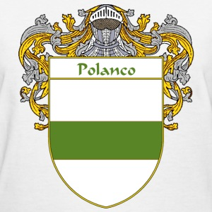 Polanco Coat of Arms/Family Crest - Women's T-Shirt
