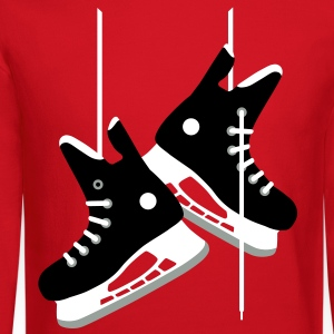 Ice hockey skates Long Sleeve Shirts - Crewneck Sweatshirt