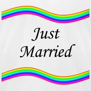 Just Married - Men's T-Shirt by American Apparel