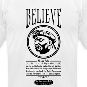 Belive - Shaka Zulu T-Shirts - Men's T-Shirt by American Apparel