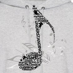 Music Notes Hoodies