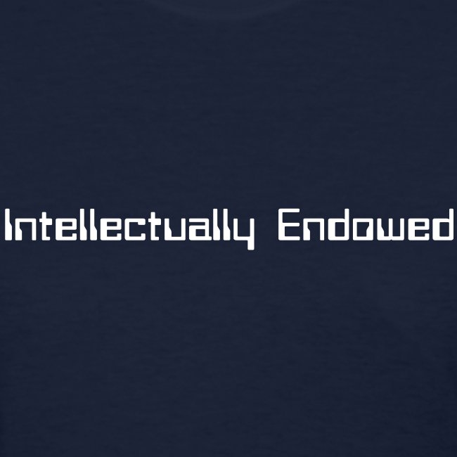 Intellectually Endowed