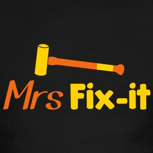 MRS fix-it with a hammer  T-Shirts - Men's Ringer T-Shirt