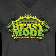 Design ~ Beastmode Beast Green V NECK