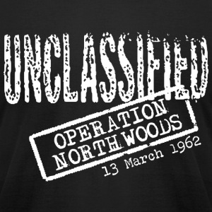 Operation Northwoods American Apparel T-Shirt - Men's T-Shirt by American Apparel