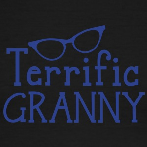terrific granny with funky cats eyes glasses T-Shirts - Men's Ringer T-Shirt