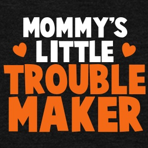 Mommy's little TROUBLE MAKER Zip Hoodies/Jackets - Unisex Fleece Zip Hoodie by American Apparel