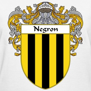 Negron Coat of Arms/Family Crest - Women's T-Shirt