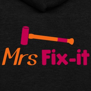 MRS fix-it with a hammer  Zip Hoodies/Jackets - Unisex Fleece Zip Hoodie by American Apparel