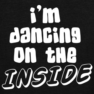 I'm dancing on the INSIDE! Zip Hoodies/Jackets - Unisex Fleece Zip Hoodie by American Apparel