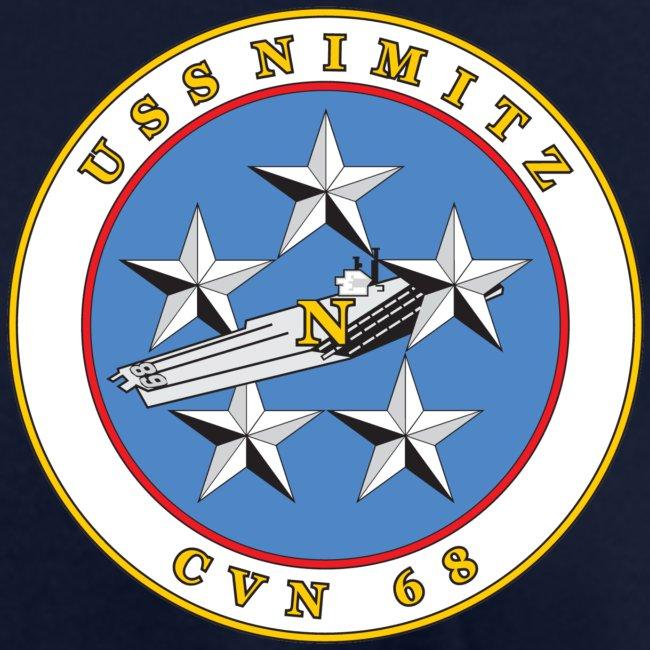 USS NIMITZ 2017 FAMILY CRUISE SHIRT - WOMENS