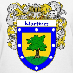 Martinez Coat of Arms/Family Crest - Women's T-Shirt