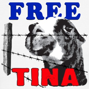 FREE TINA T-Shirts - Men's Ringer T-Shirt