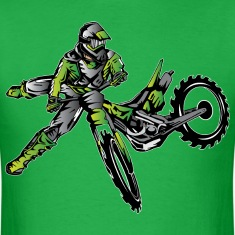 Kawasaki Freestyle Dirt Bike T-Shirts