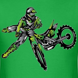 Kawasaki Freestyle Dirt Bike T-Shirts - Men's T-Shirt