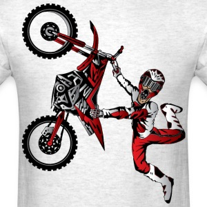 Stunt Dirt Biker T-Shirts - Men's T-Shirt