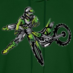 Kawasaki Freestyle Dirt Bike Hoodies
