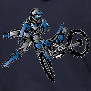 Yamaha Freestyle Dirt Bike Zip Hoodies & Jackets - Men's Zip Hoodie