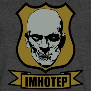 imhotep T-Shirts - Men's V-Neck T-Shirt by Canvas