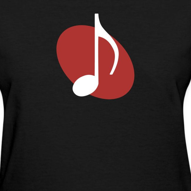 Red Music Emblem (Women's)
