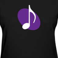 Design ~ Purple Music Emblem (Women's)