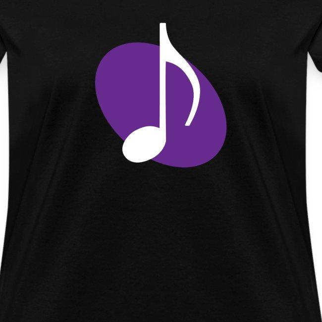 Purple Music Emblem (Women's)