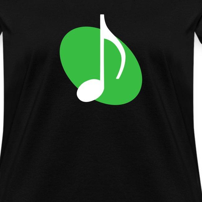 Green Music Emblem (Women's)