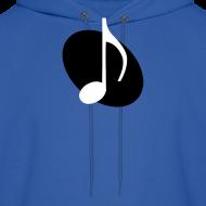 Design ~ Black Music Emblem Hoodie