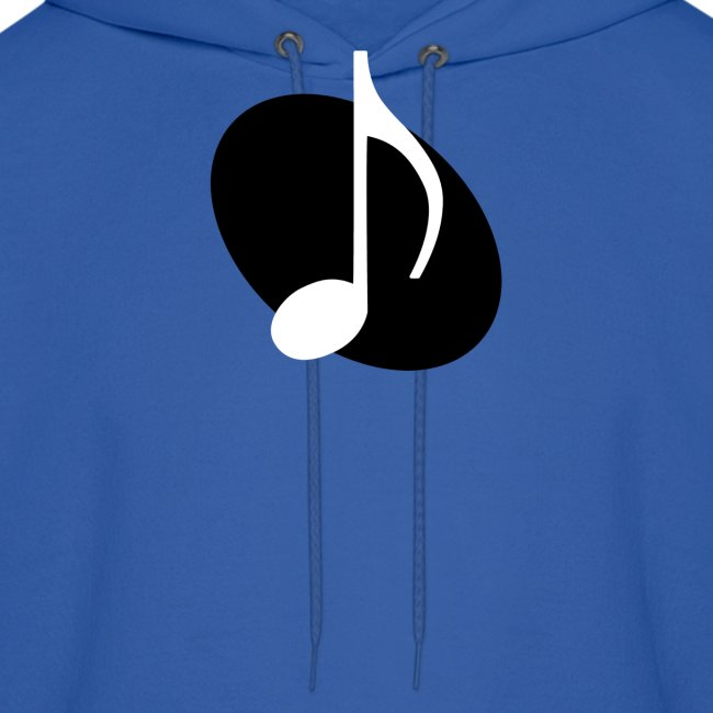 Black Music Emblem Hoodie