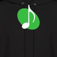 Design ~ Green Music Emblem Hoodie