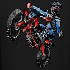 Motocross Dirt Bike Stunt Rider Hoodies