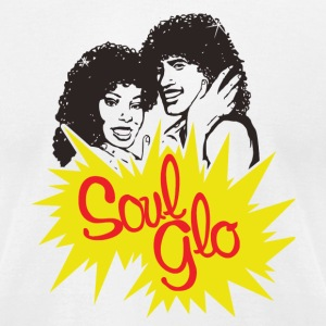 Soul Glo T-Shirts - Men's T-Shirt by American Apparel