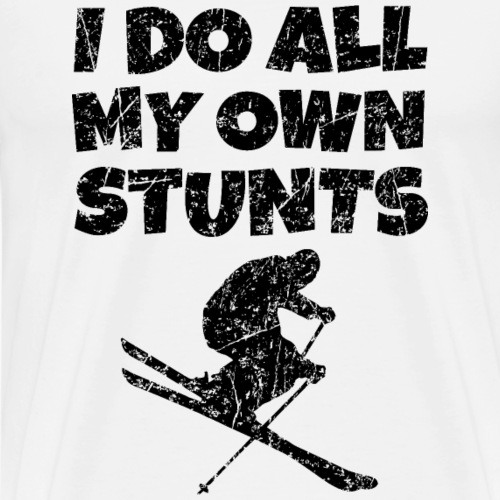 I do all my Stunts Ski Skier Winter Sports
