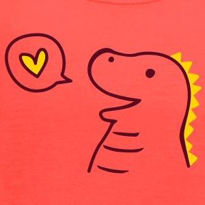 Cute Dinosaur Tanks - Women's Flowy Tank Top by Bella