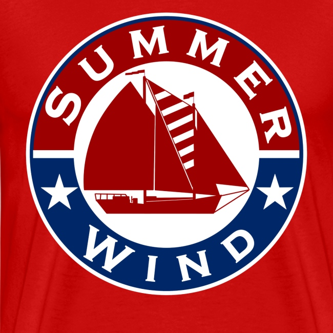 Summer Wind 2018 Crew T Red