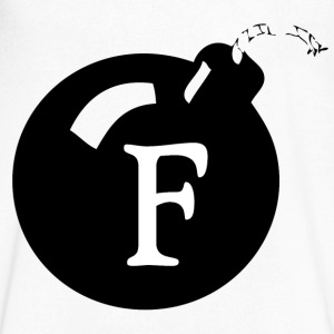 The F Bomb T-Shirts - Men's V-Neck T-Shirt by Canvas