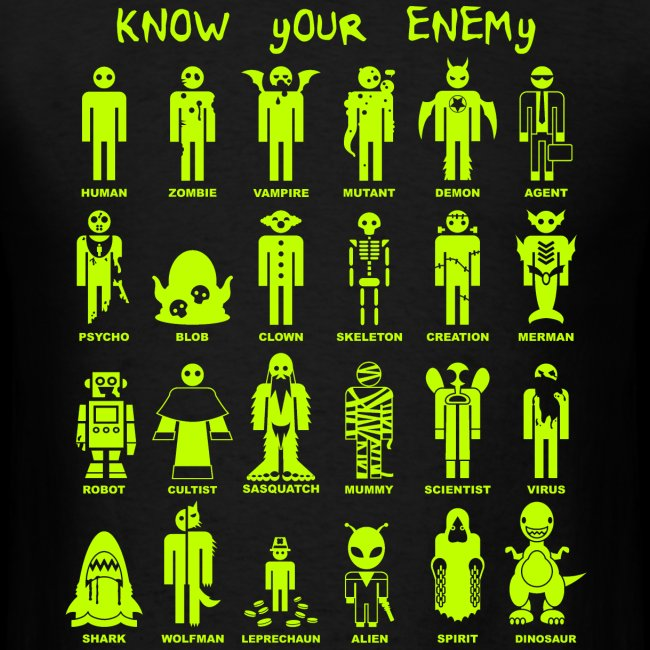 Know Your Enemy (Slime Color)