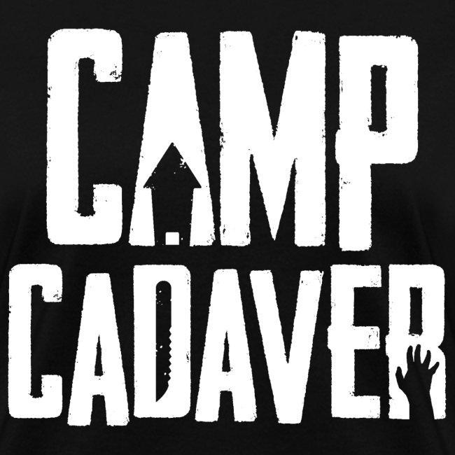 Camp Cadaver White Logo (Female)