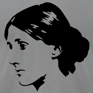Virginia Woolf T-Shirts - Men's T-Shirt by American Apparel