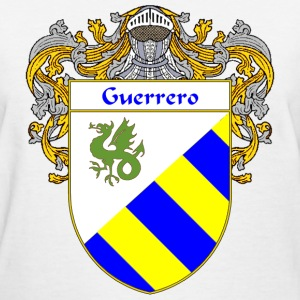 Guerrero Coat of Arms/Family Crest - Women's T-Shirt