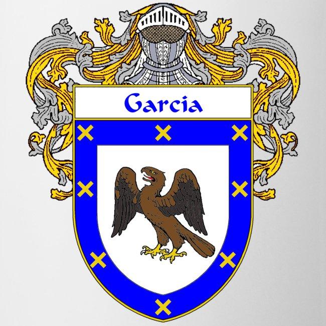 415197 Garcia Coat Of Armsfamily Crest Coffeetea Mug