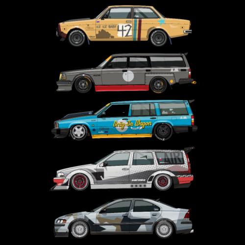 Stack of Swedish Grassroots Motorsport