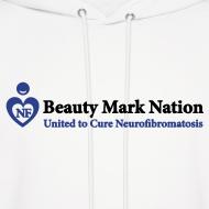 Design ~ Beauty Mark Nation Men's Hooded Sweatshirt